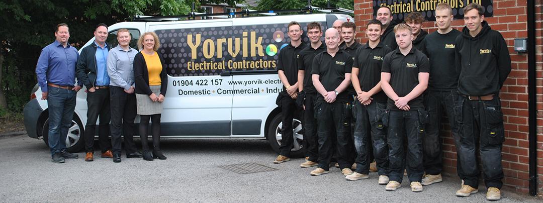 Yorvik Electric Team Photo